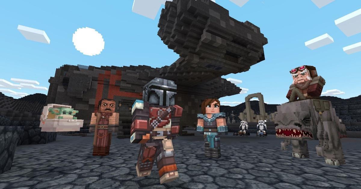 Minecraft Mandalorian