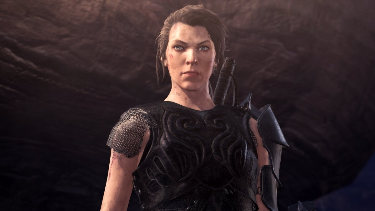 monster hunter world movie milla jovovich new cropped hed