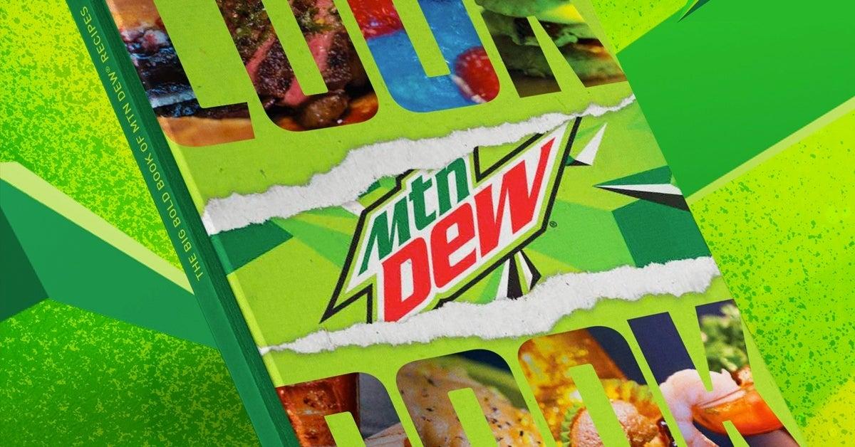 mtn dew cookbook