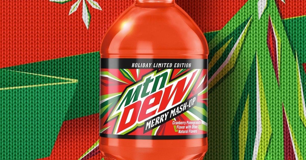 mtn dew merry mash up