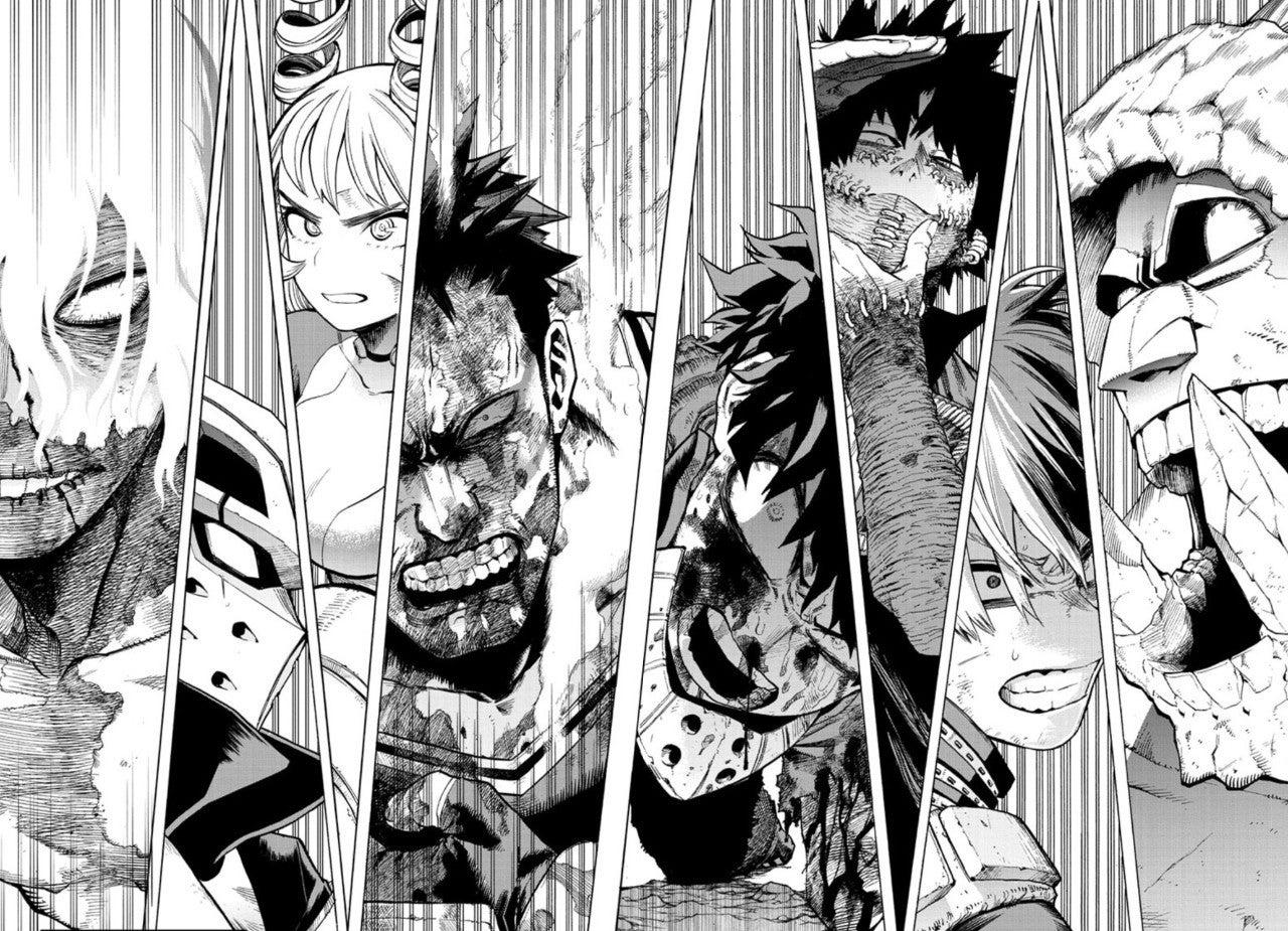 My Hero Academia Final Battle War Arc Preview Manga 285 Spoilers