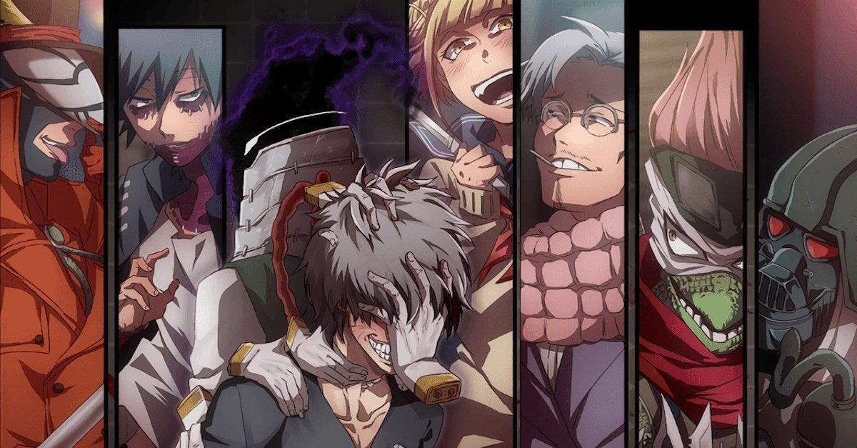 My Hero Academia League of Villains Redemption Arc