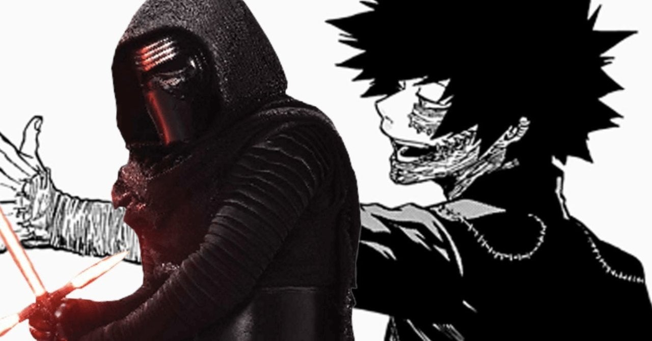 My Hero Academia Ties Dabi to Star Wars in New Crossover Piece