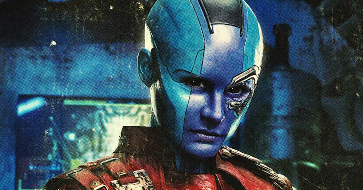 Nebula Karen Gillan Guardians of the Galaxy MArvel