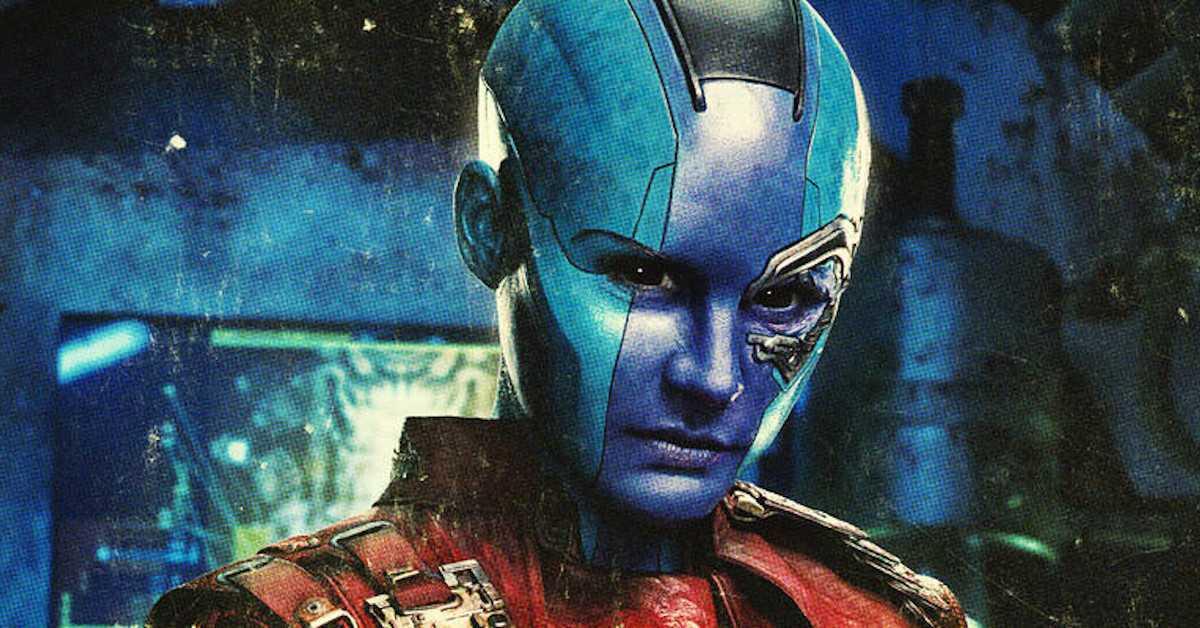 Nebula Karen Gillan Guardians of the Galaxy MArvel