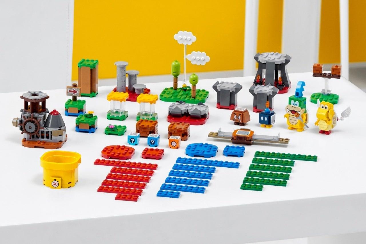 new super mario lego set 1