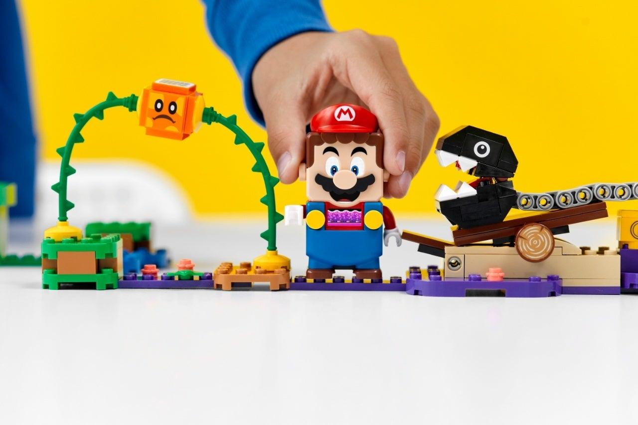 new super mario lego set 2