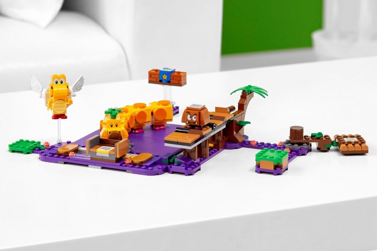 new super mario lego set 4