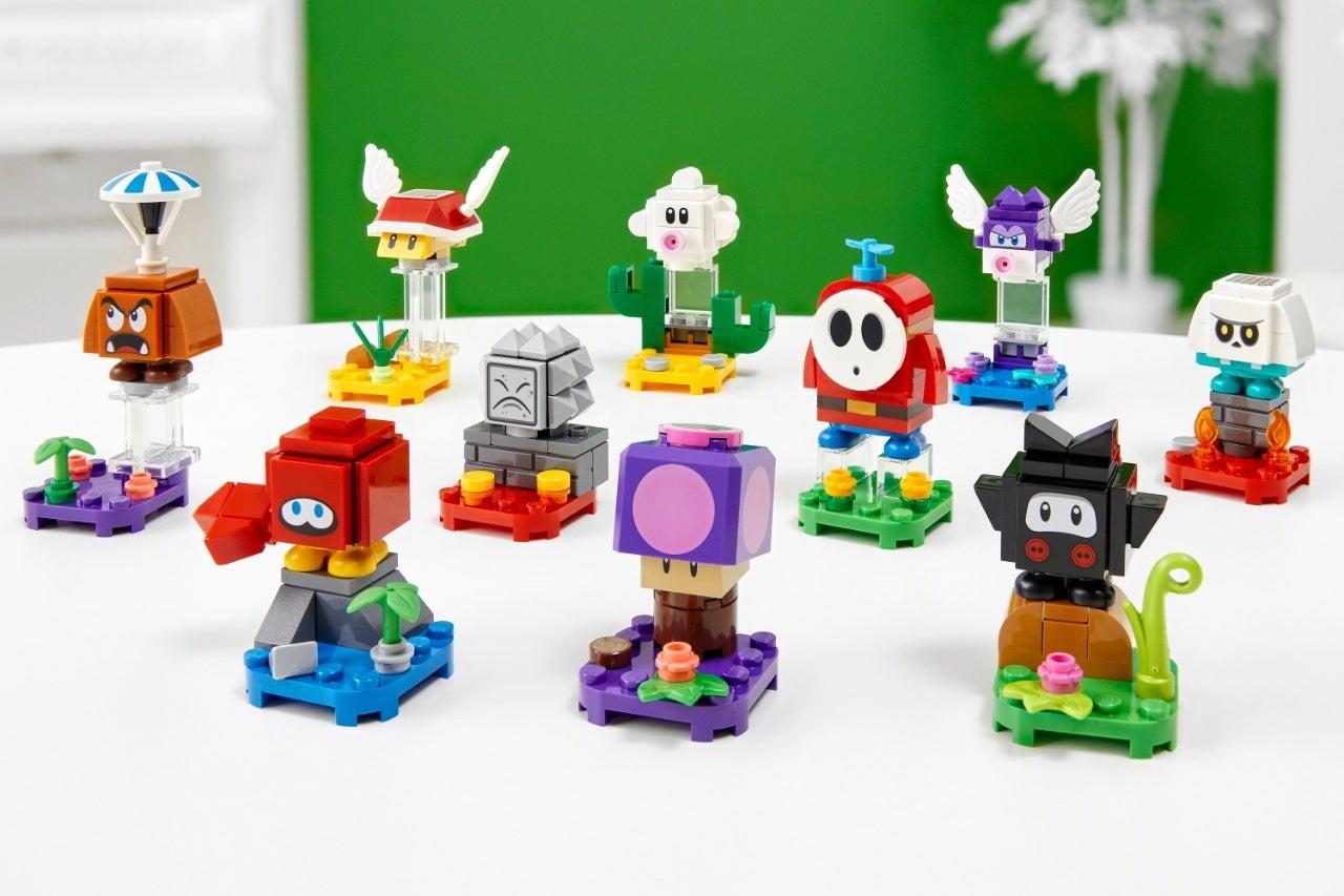 new super mario lego set 7