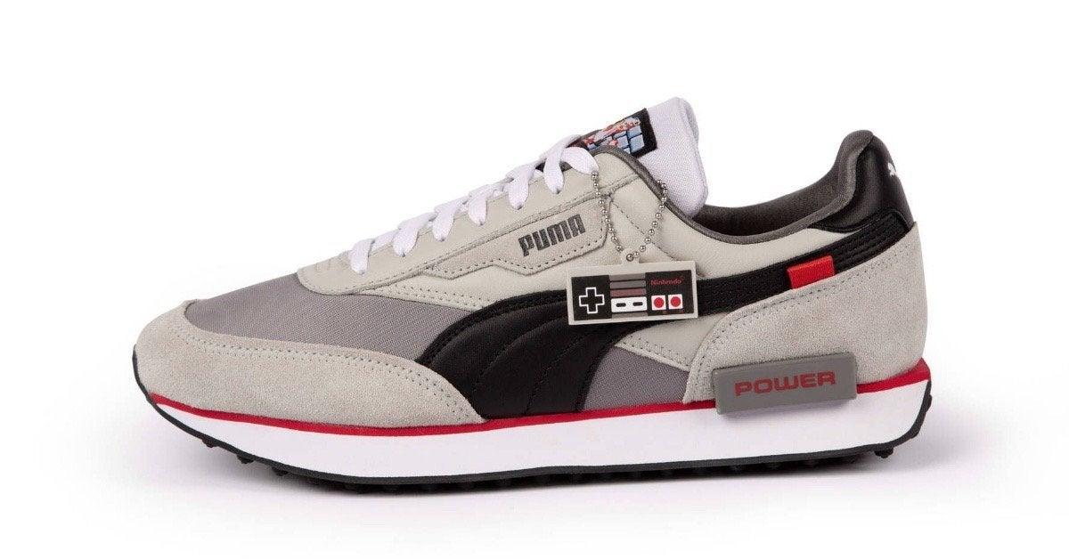 Nintendo Puma Sneakers