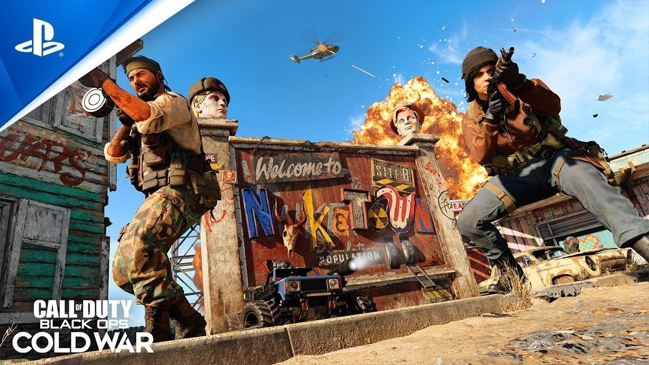 nuketown 84 call of duty cold war