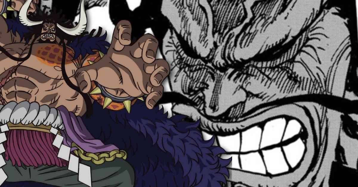 One Piece Kaido Bloody Comeback Onigashima Fight Tease Spoilers Manga