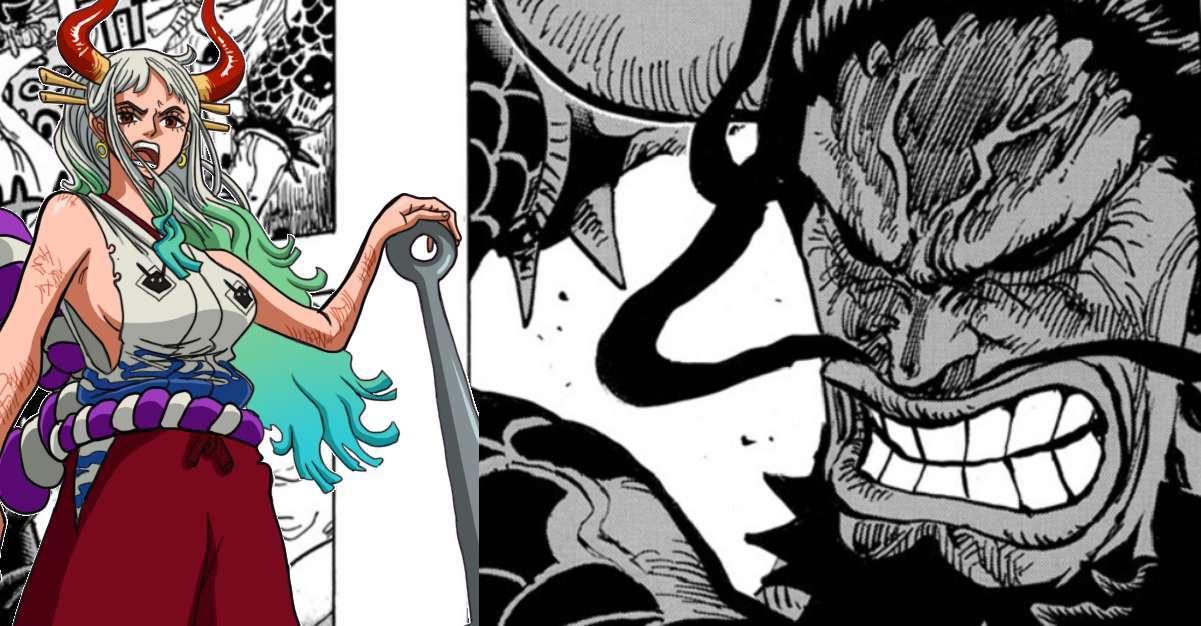 One Piece Yamato Momo Manga
