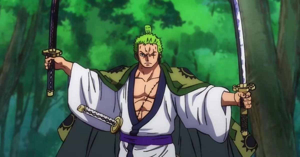 One Piece Zoro Wano Anime