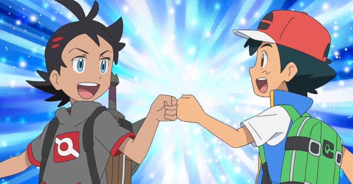 Pokemon Journeys Ash Goh Reunion Watch Anime