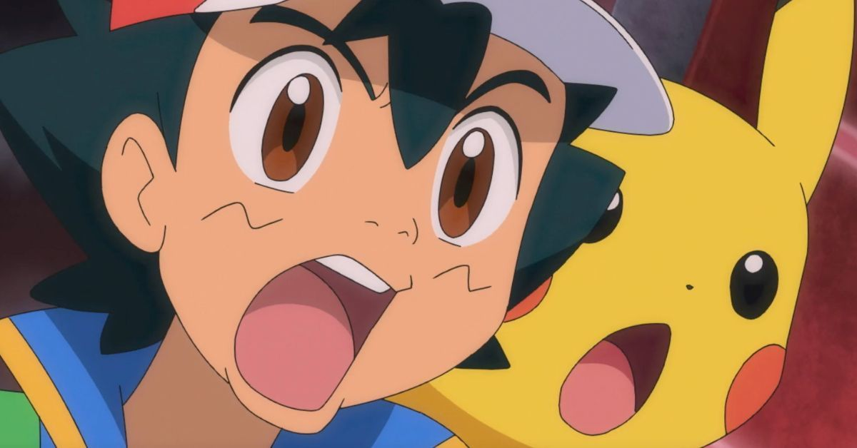 Pokemon Journeys Ash Pikachu React