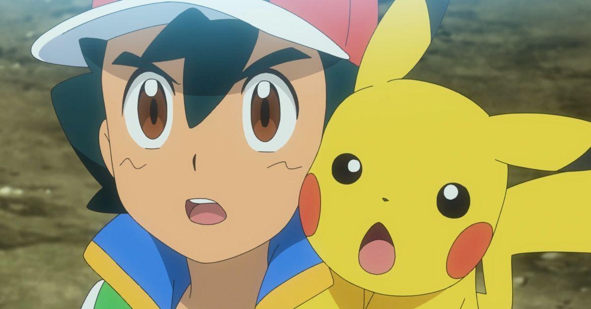 Pokemon Journeys Ash Pikachu Reaction