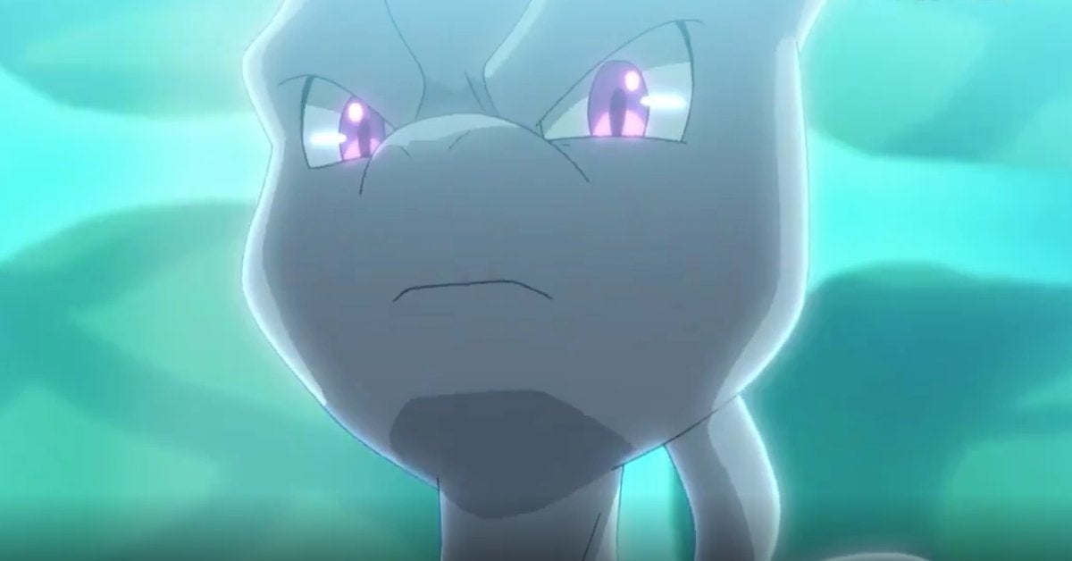 Pokemon Journeys Mewtwo Return