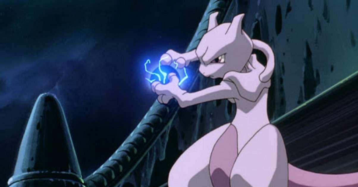 Pokemon Mewtwo Anime