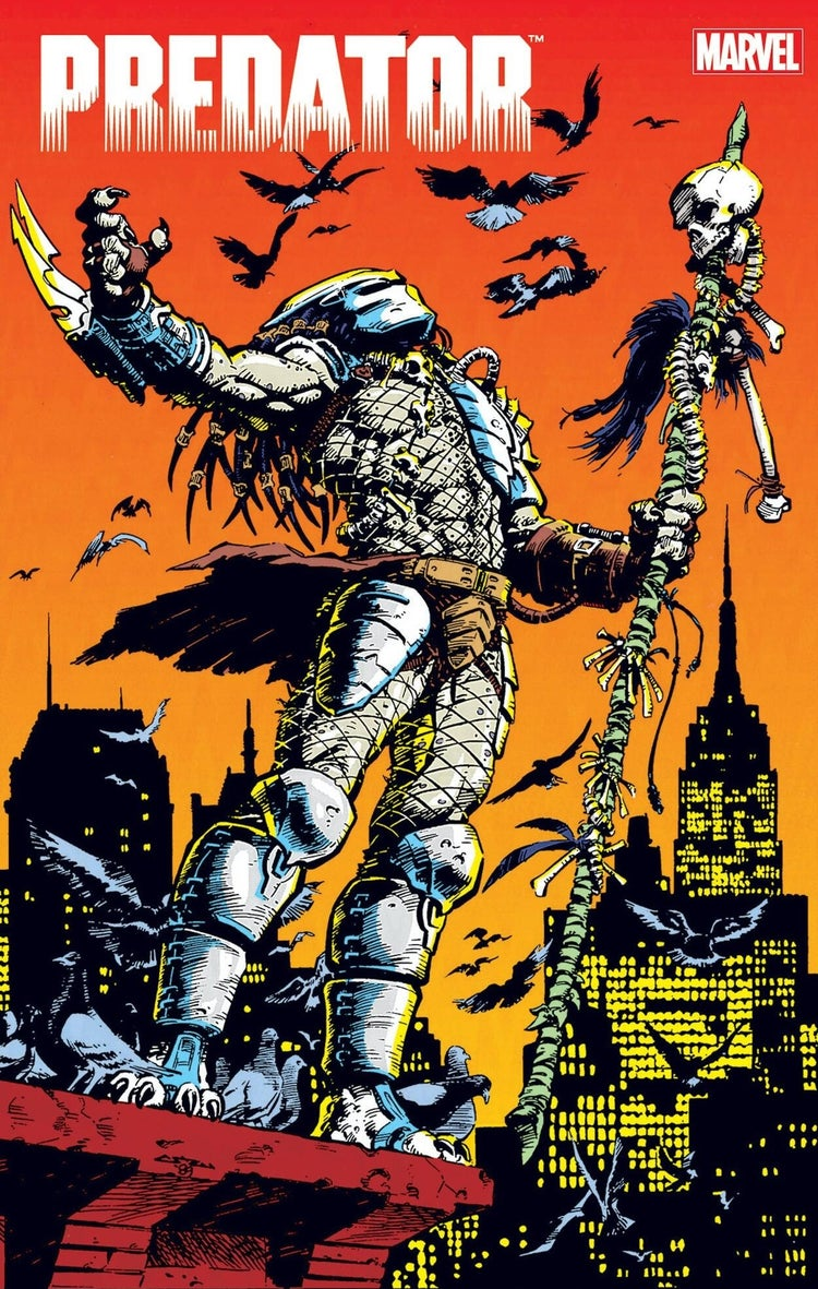 predator omnibus marvel comics direct market variant