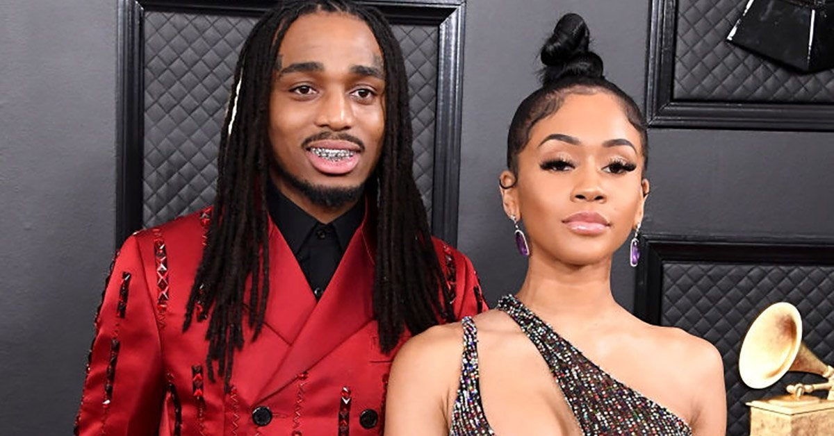 quavo and saweetie getty images