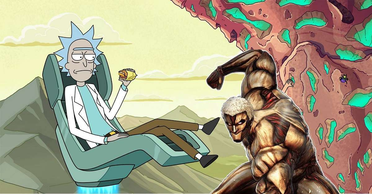 Rick And Morty Attack On Titan