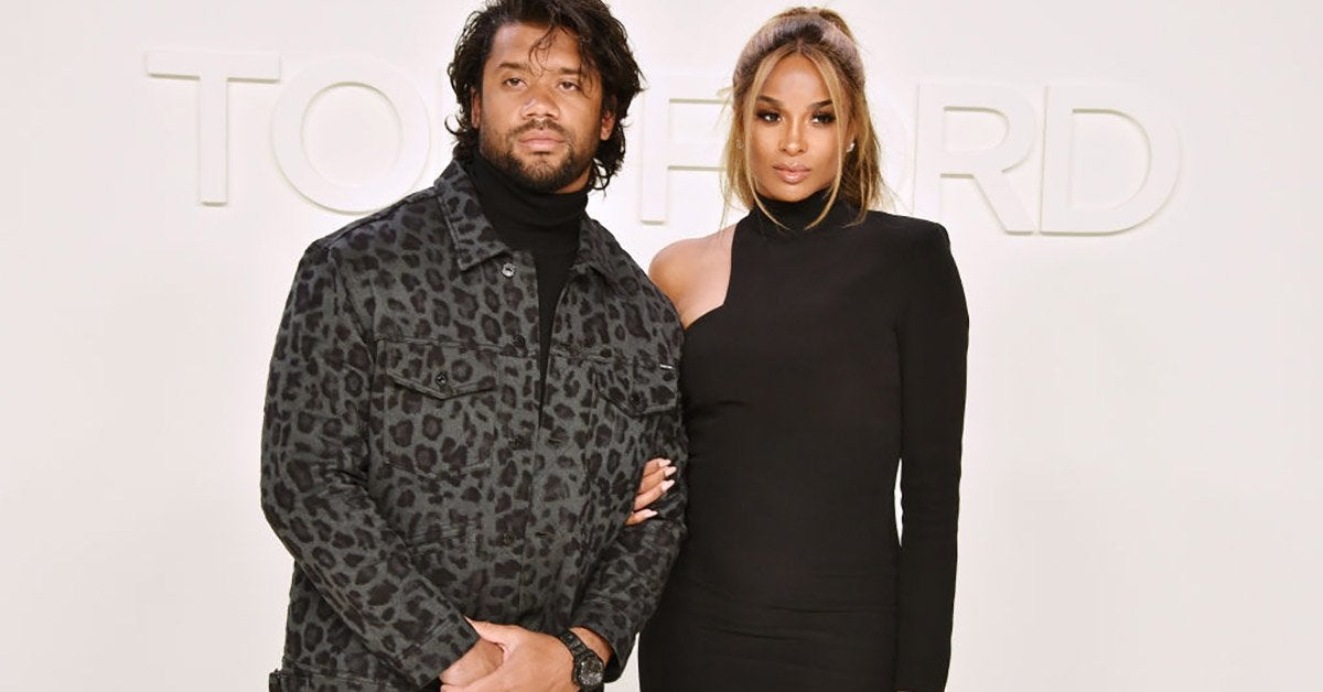 russell wilson ciara getty images