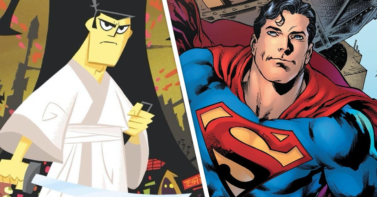 samurai jack superman