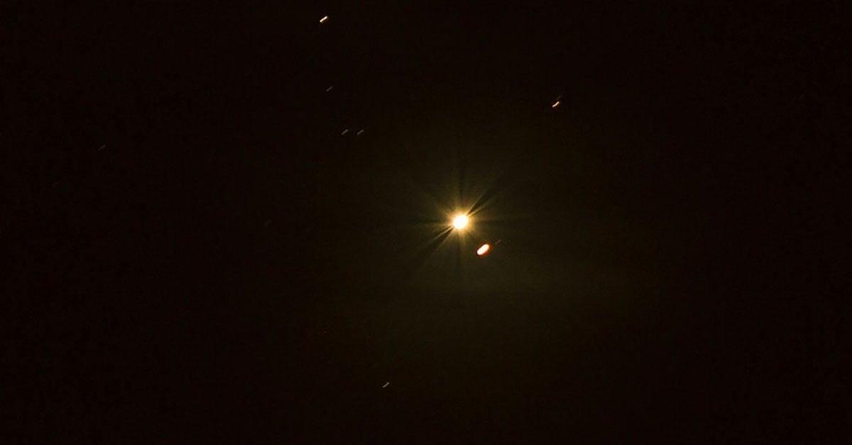 saturn venus conjunction getty images