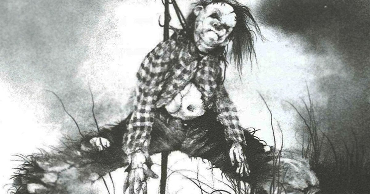 scary stories to tell in the dark book art stephen gammell harold scarecrow