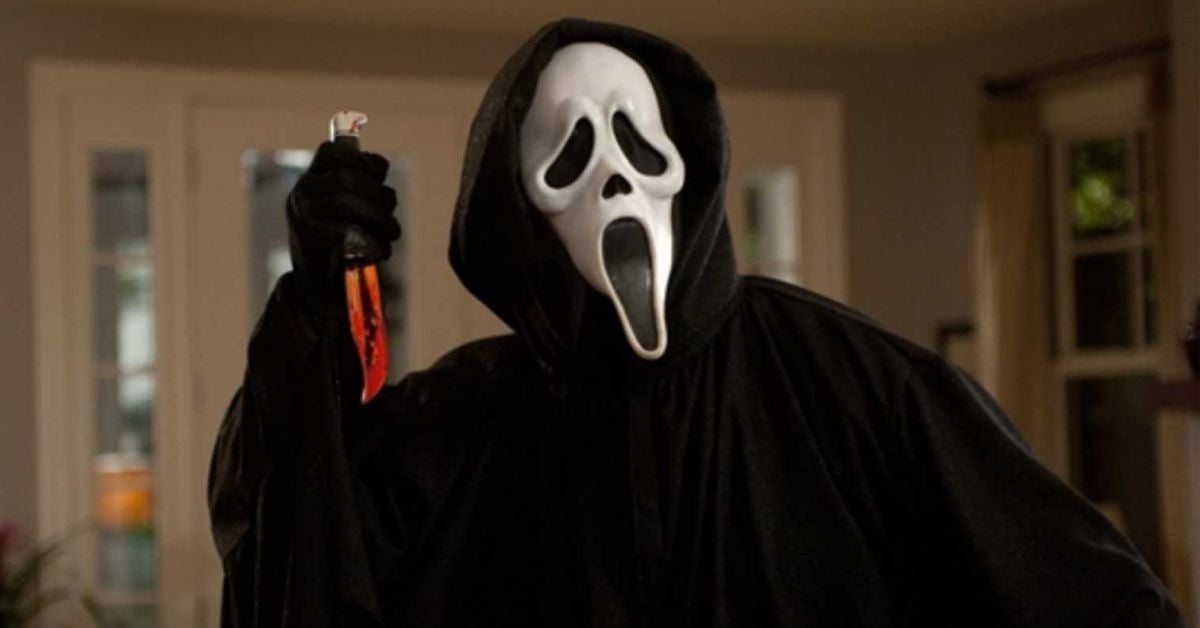 scream scream 5 ghostface