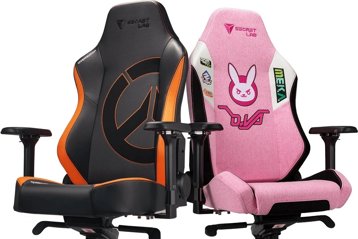 secretlab overwatch chairs