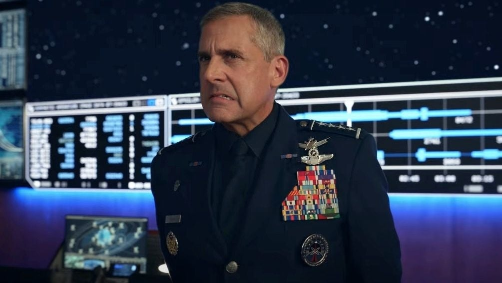 space force steve carrell