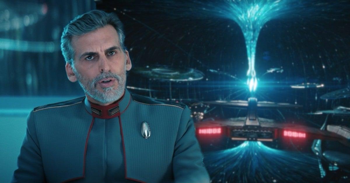 Star Trek Discovery Future Starfleet Federation Admiral Vance Episode 5 SPoilers