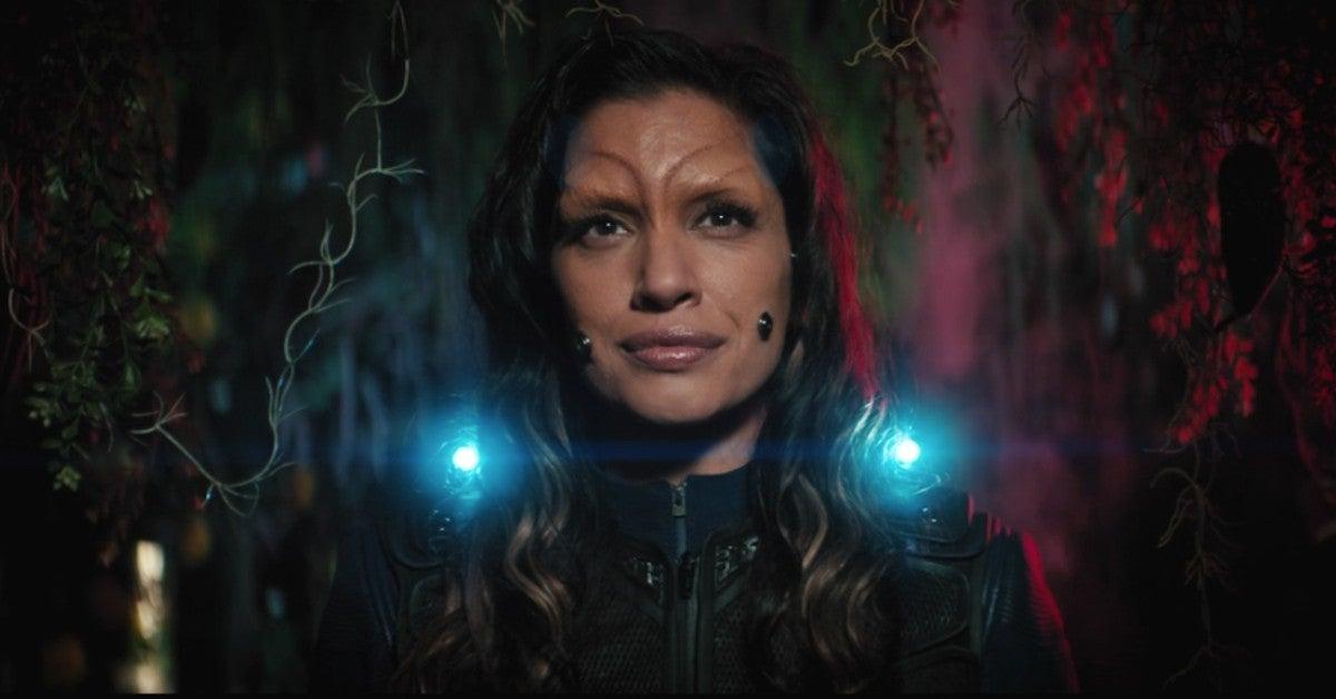 Star Trek Discovery Nhan Leaves Exits Final Scene 3x05 Die Trying