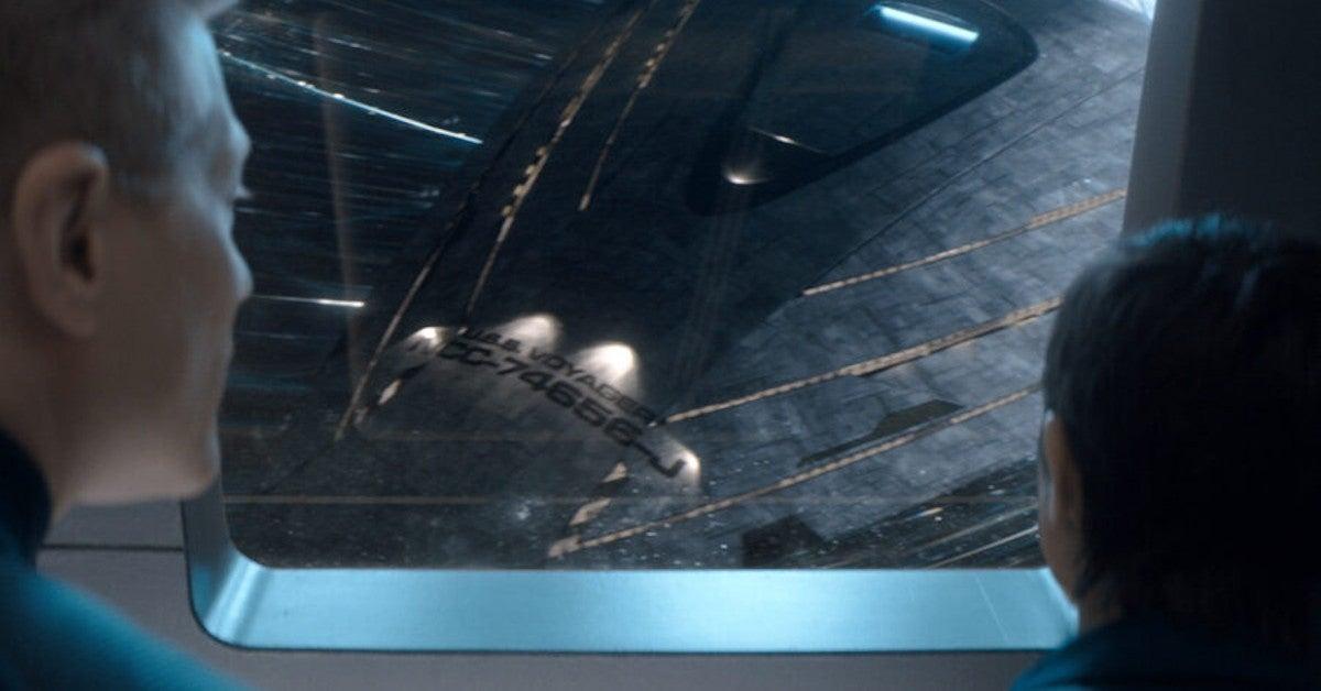 Star Trek Discovery Voyager J Artwork