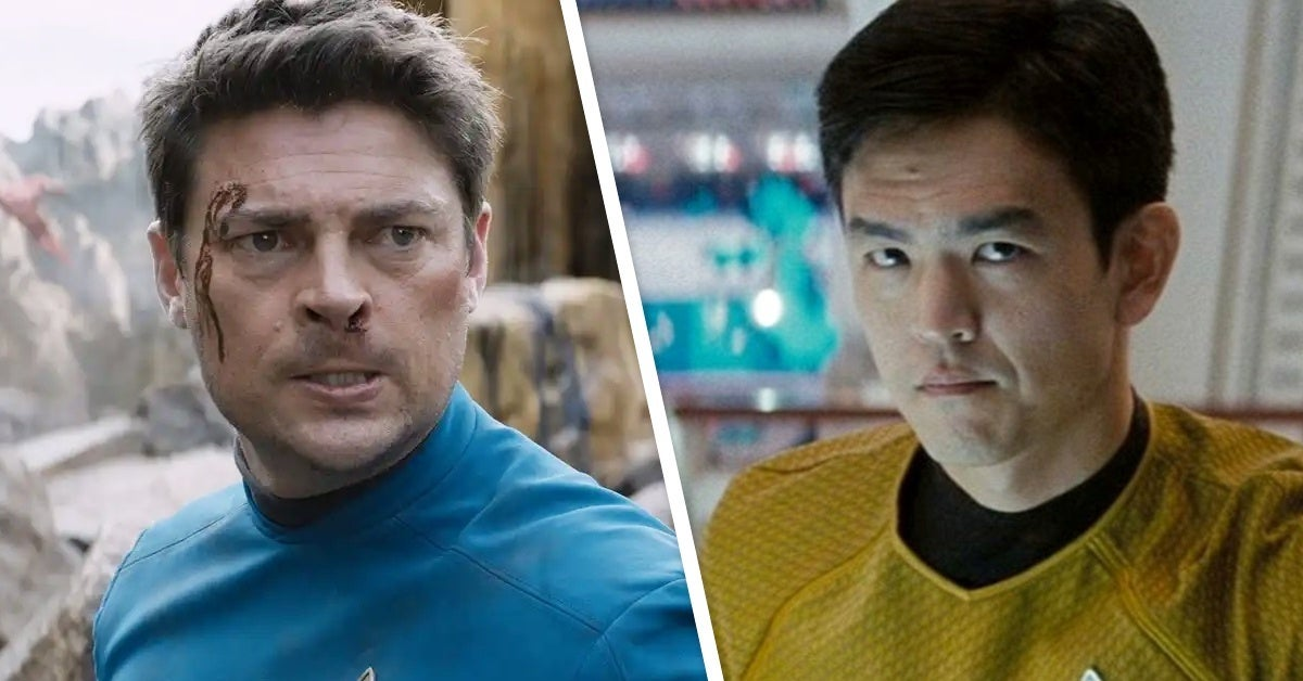 star trek karl urban john cho