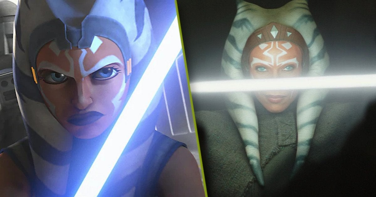 Star Wars Ahsoka Tano Rosario Dawson Ashley Eckstein