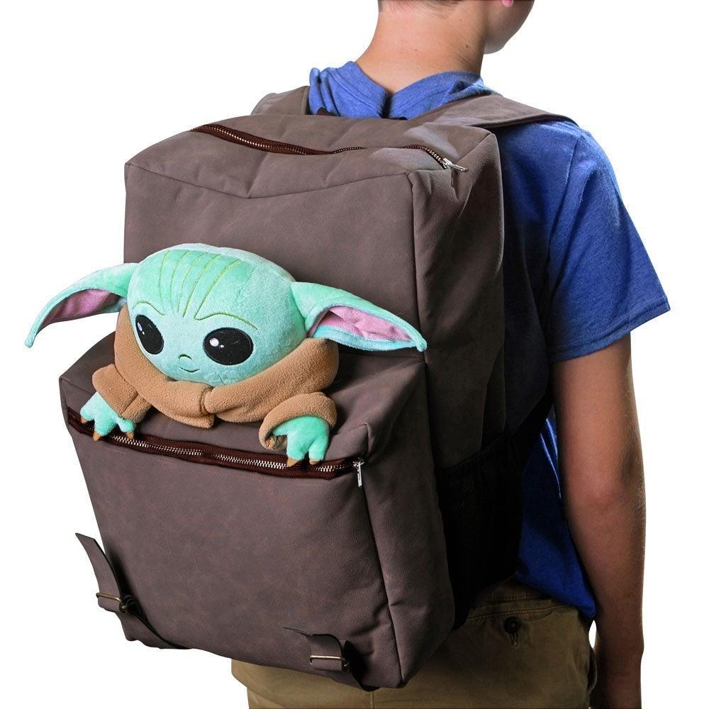 star wars baby yoda backpack celebration