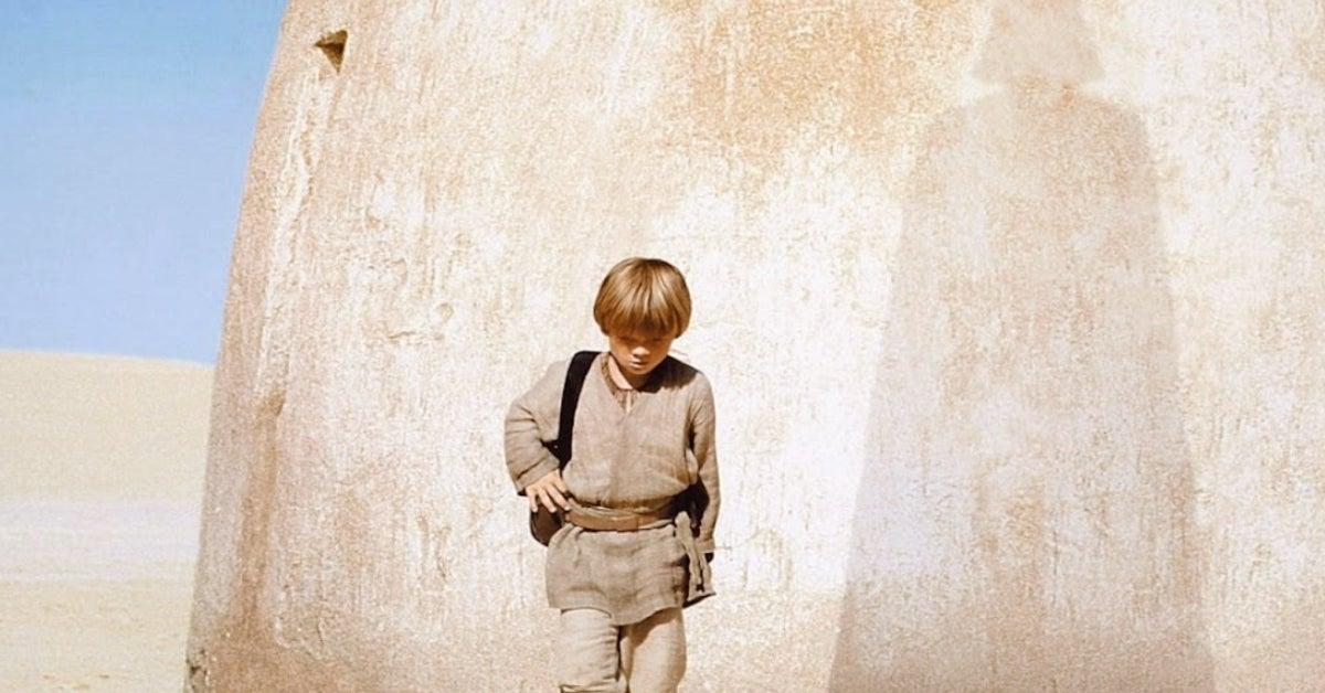 Star Wars Episode I The Phantom Menace young Anakin Skywalker