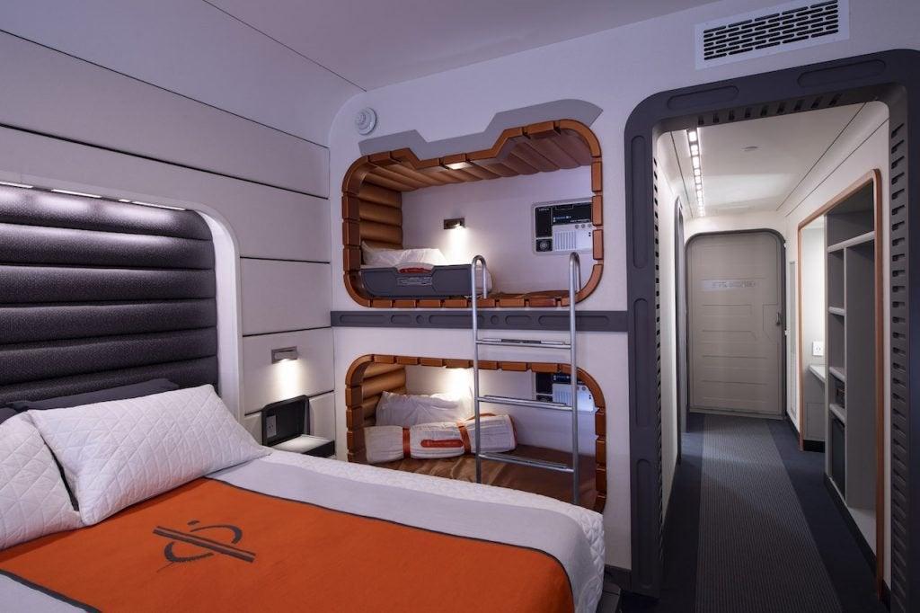 star wars galaxy's edge galactic starcruiser hotel room 2