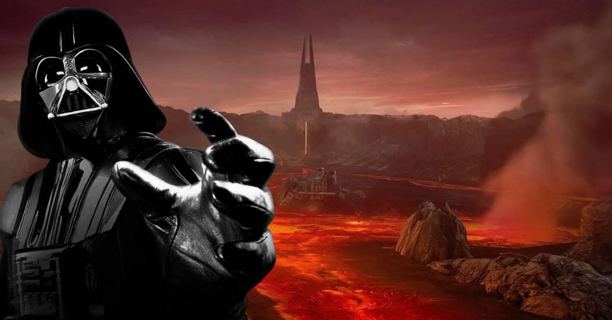 star wars hell planet mustafar darth vader