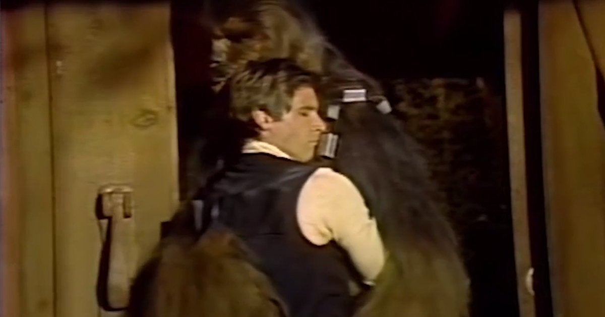 star wars holiday special han solow chewbacca