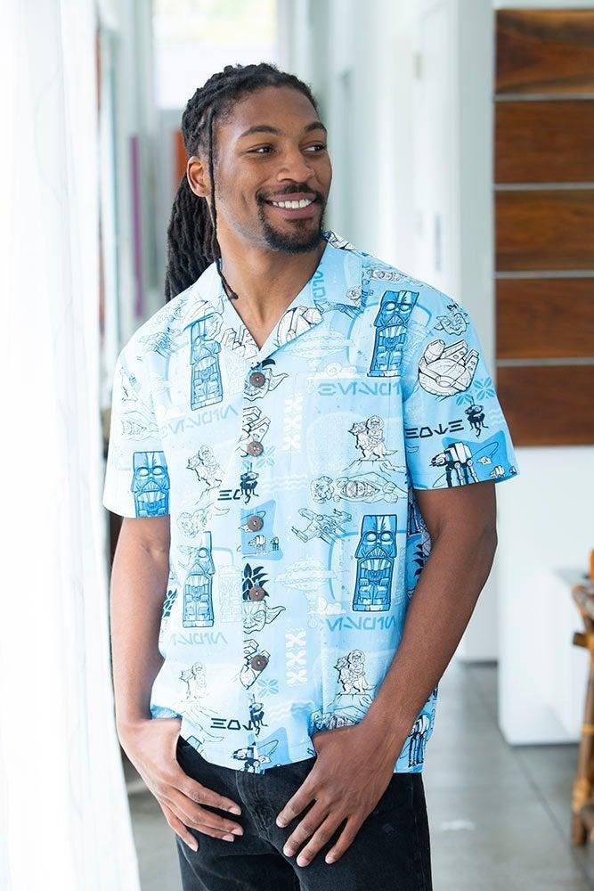star wars hoth aloha shirt celebration