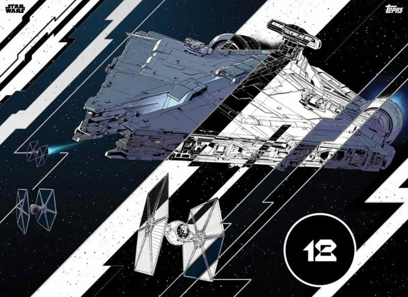 star wars mandalorian cruiser season 2 topps