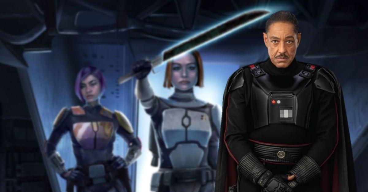 Star Wars Mandalorian Season 2 Bo-Katan Kryze Moff Gideon Darksaber Explained