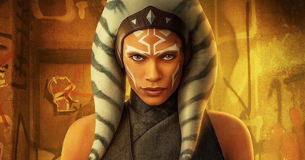 Star Wars The Mandalorian Ahsoka Tano Rosario Dawson Header