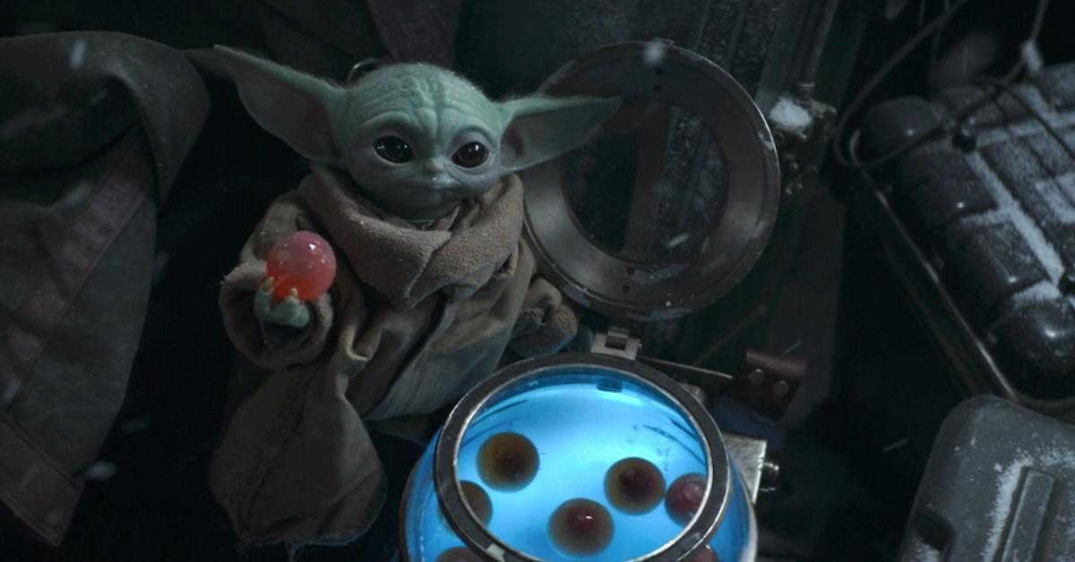 star wars the mandalorian baby yoda eats eggs
