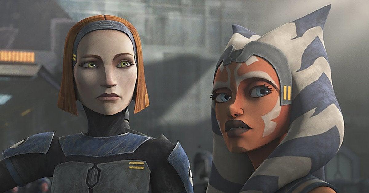 Star Wars The Mandalorian Bo-Katan and Ahsoka Tano