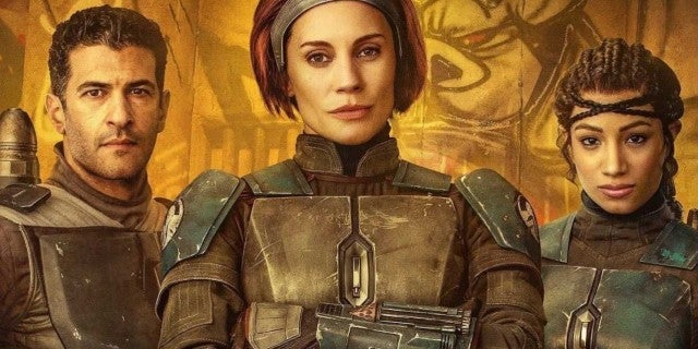 Star Wars The Mandalorian Bo Katan Kryze Koska Reeves Axe Woves Poster (Katee Sackhoff Sasha Banks)